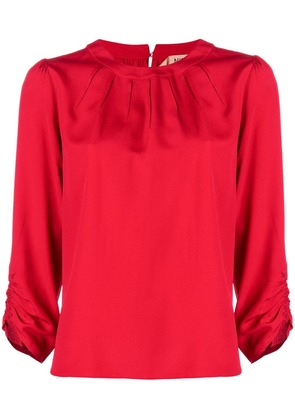 No21 3/4 sleeve blouse - Red