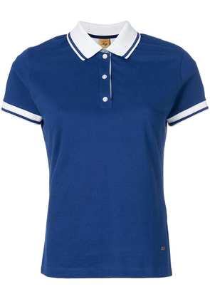 Fay classic fitted polo top - Blue