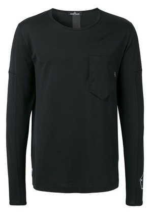 Stone Island Shadow Project rear print T-shirt - Black