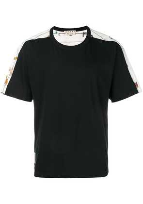 Marni illustrated T-shirt - Black
