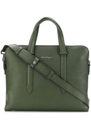 Salvatore Ferragamo Firenze briefcase - Green