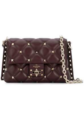 Valentino medium Valentino Garavani Candystud crossbody bag - Red