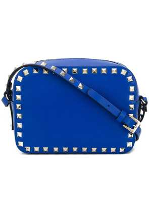 Valentino Valentino Garavani Rockstud camera crossbody bag - Blue