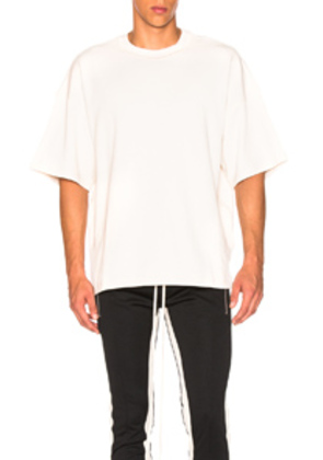 Fear of God Inside Out Tee in Neutral