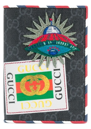 Gucci Night Courrier GG Supreme wallet - Blue