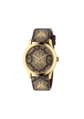 Gucci G-Timeless 38 mm watch - Brown