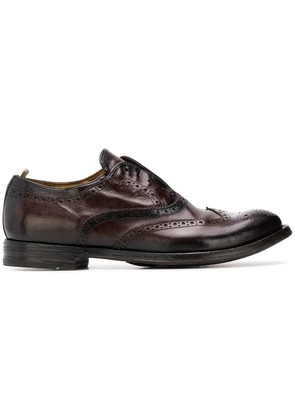Officine Creative Anatomia brogues - Brown
