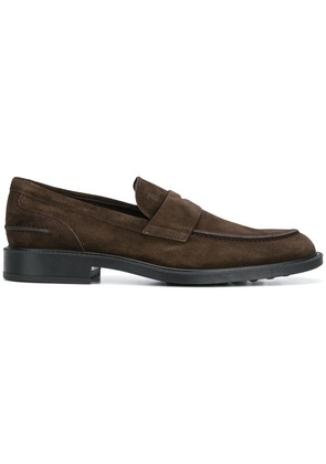 Tod's classic penny loafers - Brown