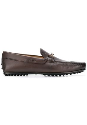 Tod's City Gommino driving shoes - Brown