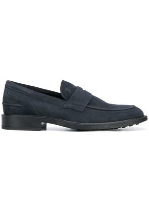Tod's classic penny loafers - Blue