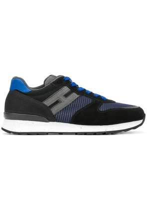 Hogan lace up sneakers - Black