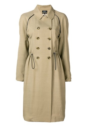 A.P.C. Jackie trench coat - Nude & Neutrals