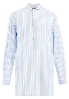 Gucci striped long shirt - Blue