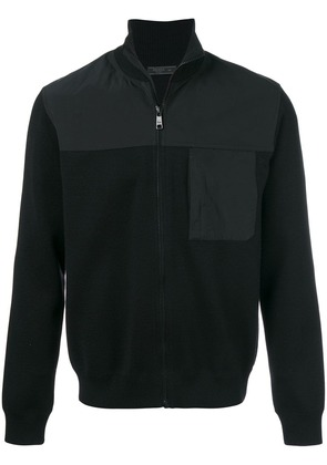 Prada zipped cardigan - Black
