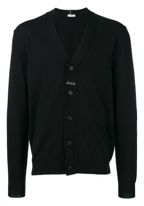 Mauro Grifoni stitch detail cardigan - Black