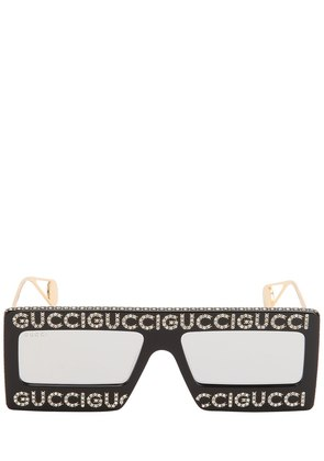 GUCCI CRYSTALS SQUARE SUNGLASSES