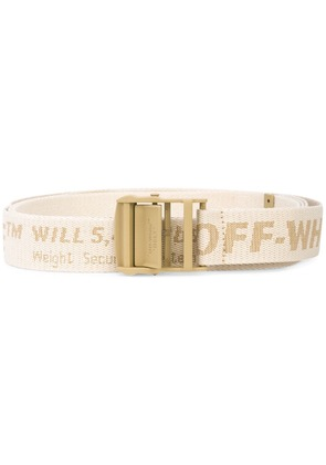 Off-White brand embroidery belt