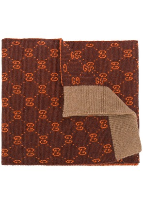 Gucci Gucci Supreme scarf - Brown