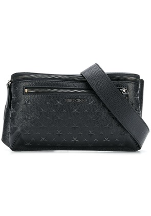 Jimmy Choo Oscar embossed belt bag - Black