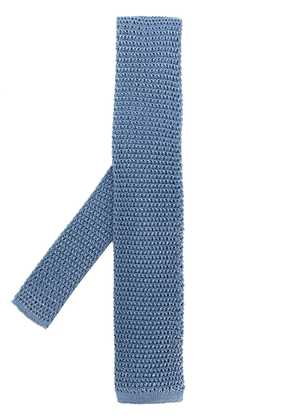Tom Ford knitted tie - Blue