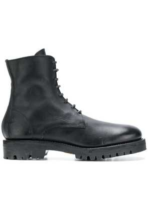 Guidi military style boots - Black