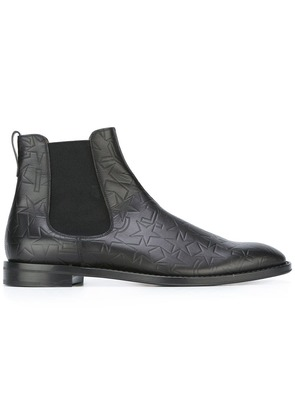 Givenchy logo embossed Chelsea boots - Black