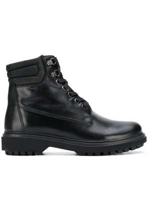 Geox ankle lace-up boots - Black