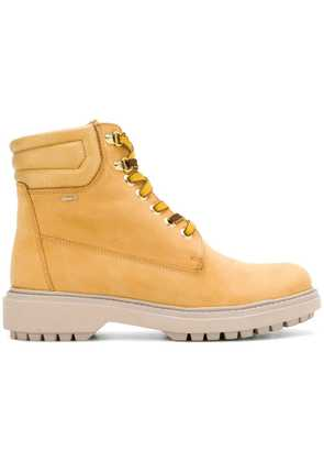 Geox ankle lace-up boots - Yellow