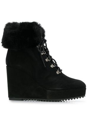 Castañer Qeb wedge boots - Black