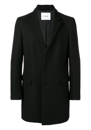 Dondup single-breasted buttoned coat - Black