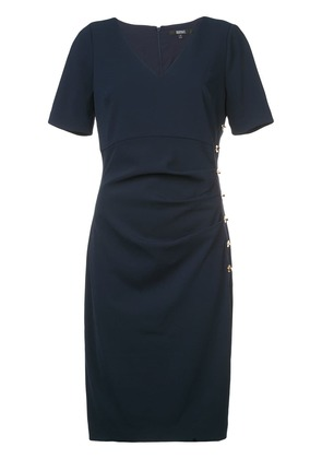 Badgley Mischka perfectly fitted dress - Blue