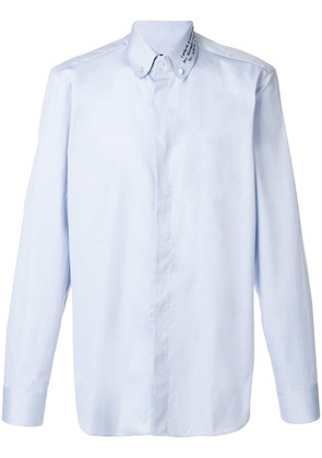 Gucci long-sleeve shirt - Blue