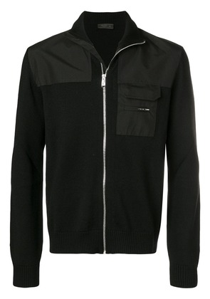 Prada zip-up cardigan - Black