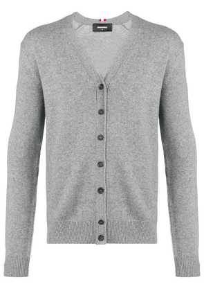 Dsquared2 V-neck cardigan - Grey