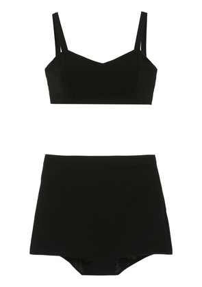 Olympiah Basic bra and briefs set - Black