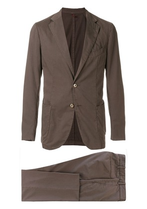 Biagio Santaniello two piece casual suit - Brown