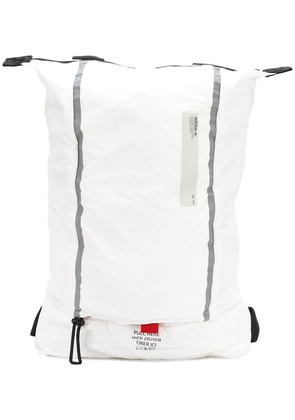 Adidas top zipped backpack - White