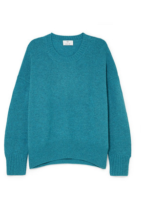 Allude - Oversized Cashmere Sweater - Green
