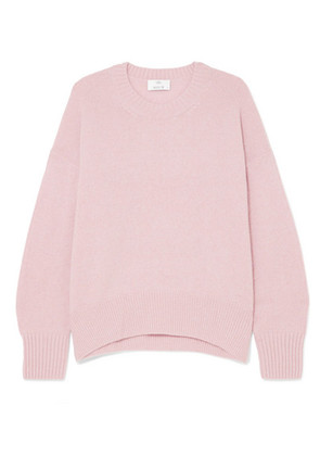Allude - Oversized Cashmere Sweater - Pink