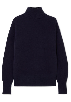 Theory - Cashmere Turtleneck Sweater - Navy