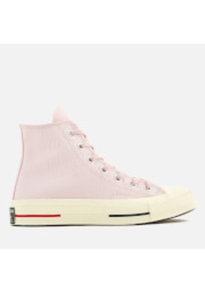 Converse Women's Chuck Taylor All Star '70 Hi-Top Trainers - Barely Rose/Gym Red/Navy - UK 8 - Pink