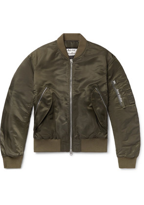 Makio Nylon Bomber Jacket