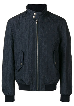 Joseph Maurice quilted bomber jacket - Blue