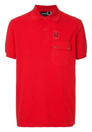 Raf Simons X Fred Perry front pocket polo shirt