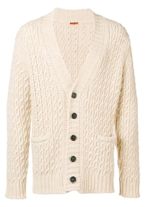 Barena cable knit cardigan - Nude & Neutrals