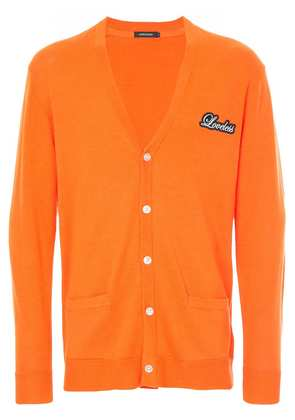 Loveless v-neck cardigan - Yellow & Orange