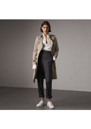Burberry The Chelsea - Long Trench Coat, Beige