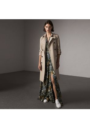 Burberry The Kensington - Extra-long Trench Coat, Beige