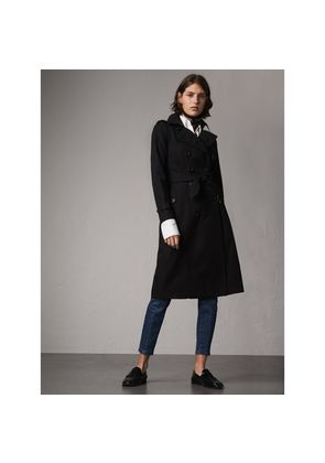 Burberry The Chelsea - Extra-long Trench Coat, Black