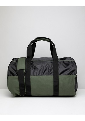 Brave Soul Canvas Holdall - Green